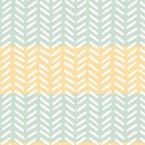 Herringbone and Stripes