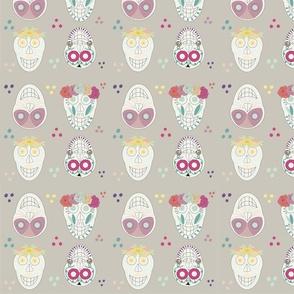 Happy Little Sugar skulls
