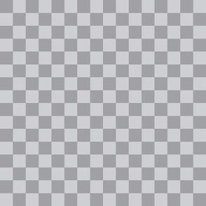 ".5"" checkerboard grey half inch squares - checkers chess"
