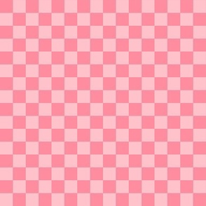 """.5"""" checkerboard pink half inch squares - checkers chess"""