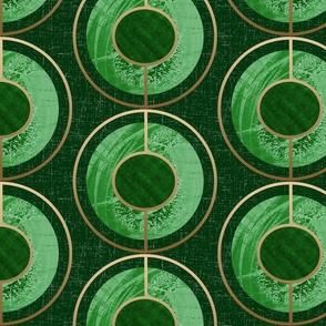 Peaches-Green Geometric