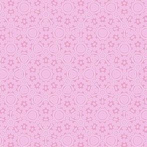 flower tiles - just pink