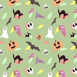 Pastel Halloween Repeat