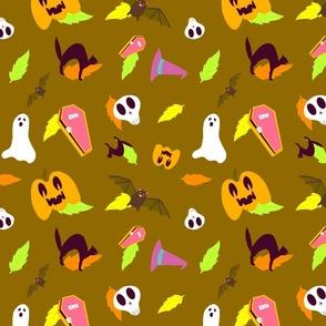 Brown Halloween