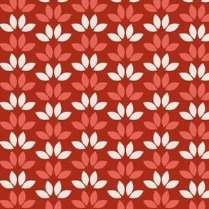 Folk Artleaves red background-02