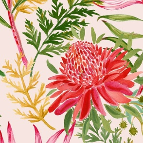 Final Protea painted pink