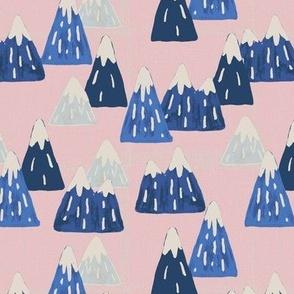 Blue Mountains - Pink