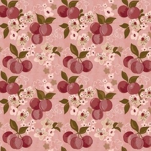 stone fruit plum tree plum blossom xxs extra extra small tiny