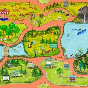 My World  Seek and Find Play Mat