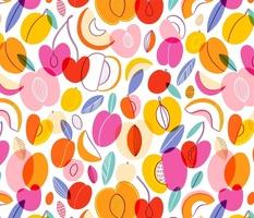 I love summer, fruit pattern