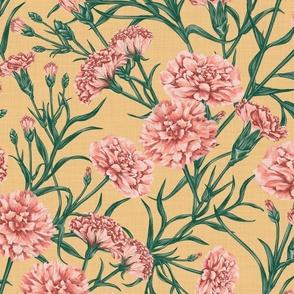 Pink Carnation (Yellow)