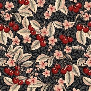 Cherries - Large - Red , Pink, Black
