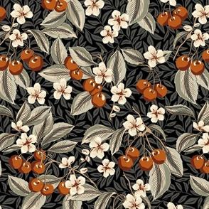 Cherries - Large - Terra Cotta, Sage