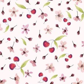 Cherry Blossoms n Cherries