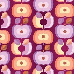 Retro Peaches & Plums