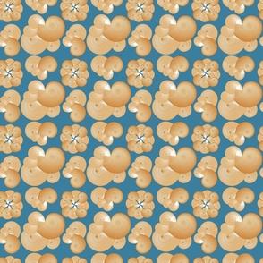 Shells on Blue, Hawaiian Vacation