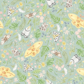 Forest Moth Pattern
