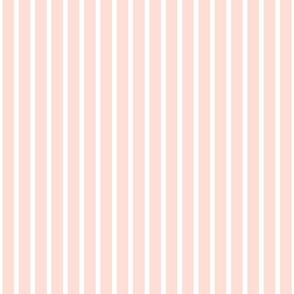 Peach Stripes 1x1 inch