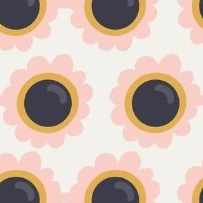 Daisy Sunglasses Offwhite/Pink by DEINKI (medium scale)
