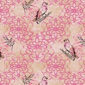 Lattice Lace w Birds
