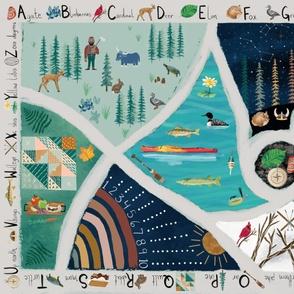 My Minnesota Alphabet Seek and Find Playmat