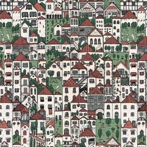The Town (colour)