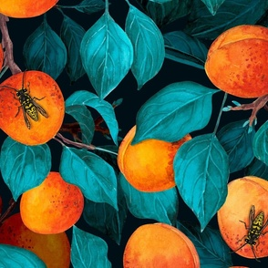 Apricot garden, big size