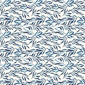 Blue Leaves Horizontal