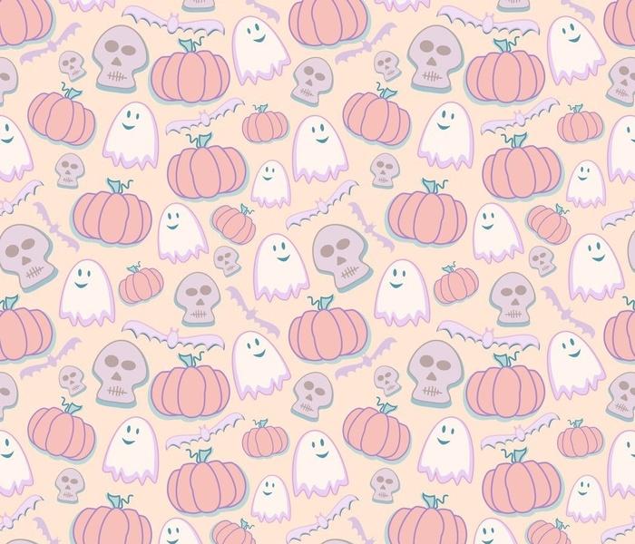 Halloween in pastels