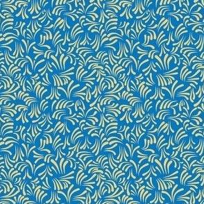 wavy kurbits small blue yellow_