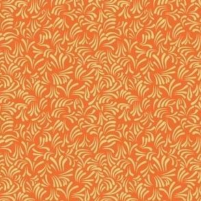wavy kurbits small orange yellow