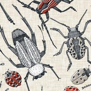 beetles retro