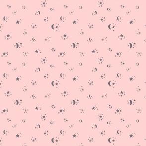 Pastel Night Sky- pink