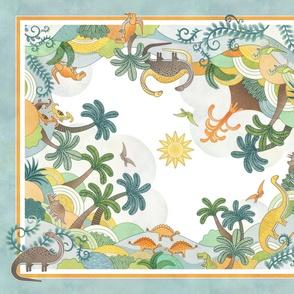 Dinos Wonderland Playmat