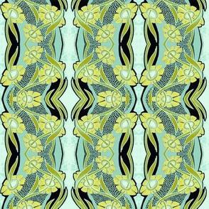 Daisy Chain Vertical Stripe