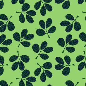 Spring Burst Green Leaf