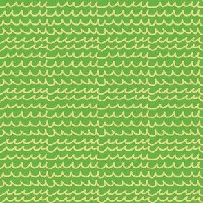 squiggles wiggles lines green yellow medium