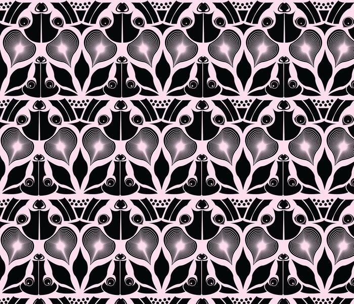 Pastel Tessellating Fruit Bats