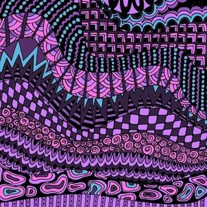 Zen-diggity  - purple