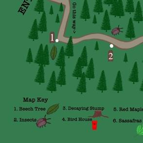 Take a Hike Play Mat