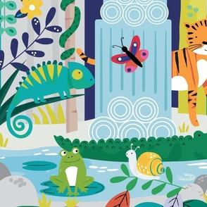 Jungle Seek & Find Playmat