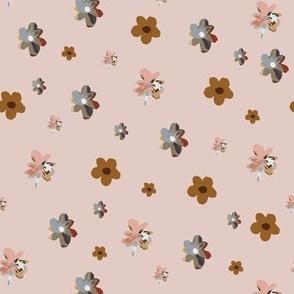 multi floral pink