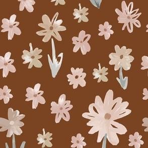 sweet floral mocha