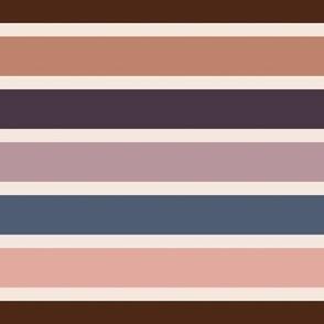 bold stripe pink