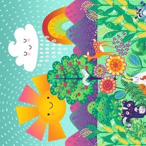Garden Friends Playmat