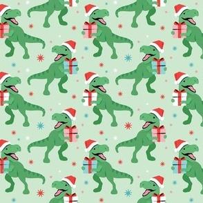 T-Rex Christmas - Medium Scale