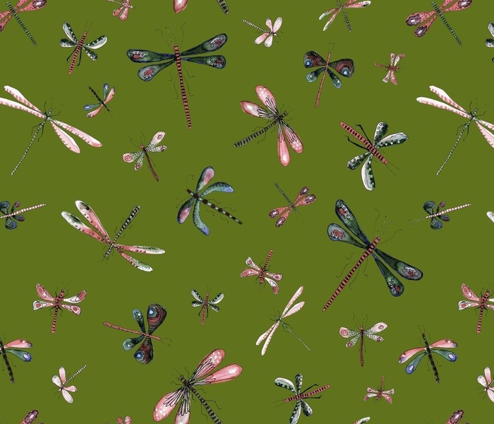 Retro Dragonflies