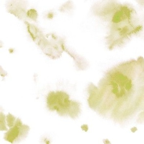 avocado watercolor dreams - ethereal painted texture - abstract watercolour stains a422-4