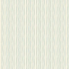 Narrow blue stripes