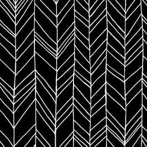 Featherland black/white